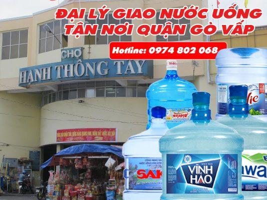 giao nước uống nhà thờ Hạnh thông Tây