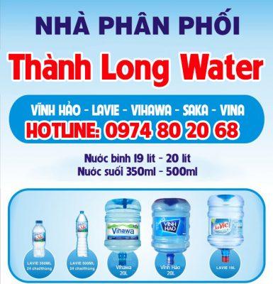 nhà phân phối nước uống Thành Long Water
